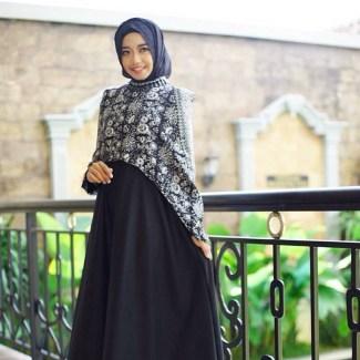 Model Baju Gamis Batik Termodis untuk Acara Pesta