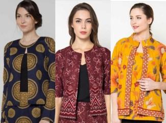 Pilihan Model Baju Batik Kerja Wanita Terbaru