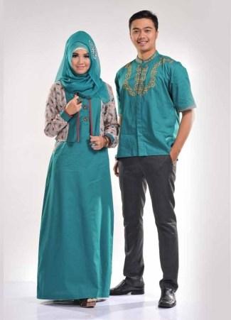 55 Model Baju Batik Kombinasi Terlengkap Kain Polos Brokat
