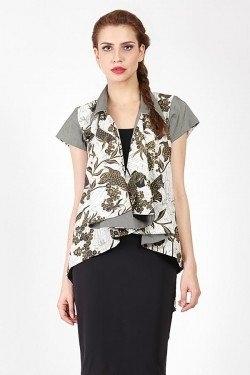43 Model Baju Batik Wanita Terbaru 2018 Atasan Lengan Panjang Dll