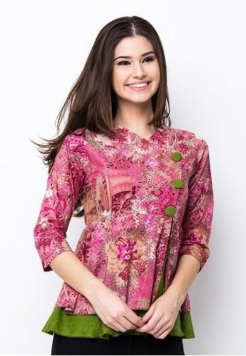 43 Model Baju Batik Wanita Terbaru 2019 Atasan Lengan