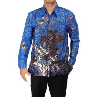 Model Baju Batik Pria Lengan Panjang Terbaru Saat Ini