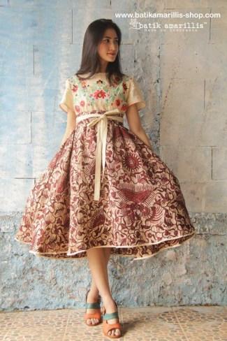 27 Model Baju Batik untuk Pesta Pernikahan Terbaru 2017 Lagi