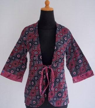 Model Baju Batik Kerja Kombinasi Kain Polos Model Baju Trend 2019