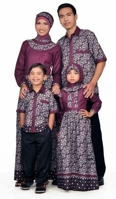 Model Baju Batik Couple untuk Keluarga Paling Modern Saat Ini