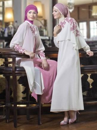 Model Baju Gamis Sifon Polos Paling Mewah dan Modern