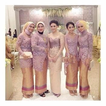 Model Kebaya Muslim untuk Acara Pernikahan