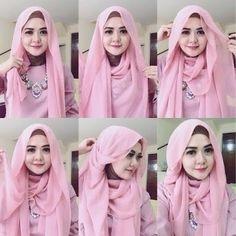 Tutorial Hijab Wisuda dengan Hijab Pashmina Terbaru