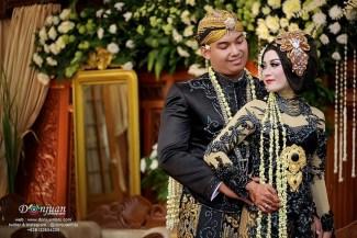 Model Kebaya Pengantin dari Jawa dengan Nuansa Hitam
