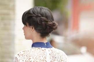 Model Sanggul Modern untuk Rambut Pendek 3