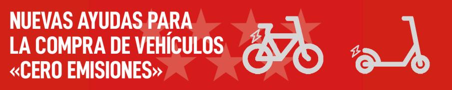 Ayudas para compra de bicicletas eléctricas, patinetes eléctricos, ciclomotores eléctricos y motocicletas eléctricas.
