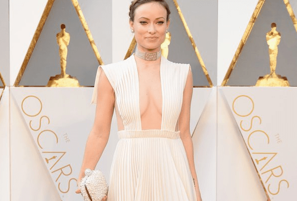 olivia wilde, valentino dress, oscar
