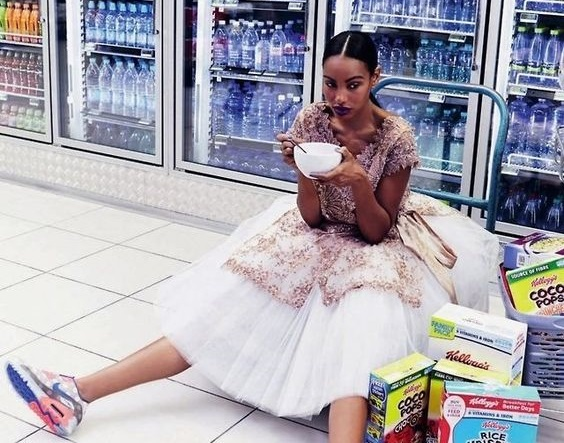 fashion model diet tips