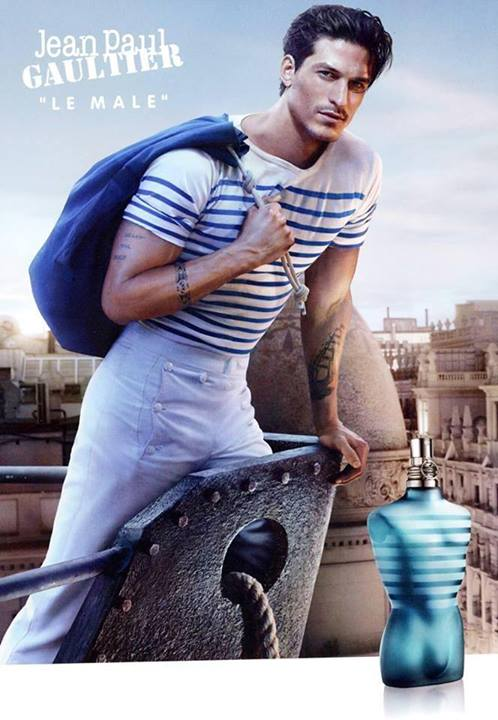 jean paul gaultier le male fragrance 2013 ad campaign