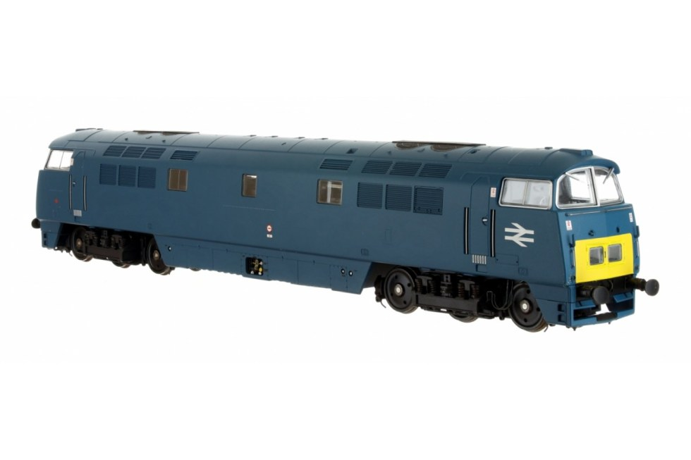 Dapol 4D-003-016 Class 52 Western Diesel – D1043 Western Duke – Chromatic Blue SYP Large double arrows (OO scale)