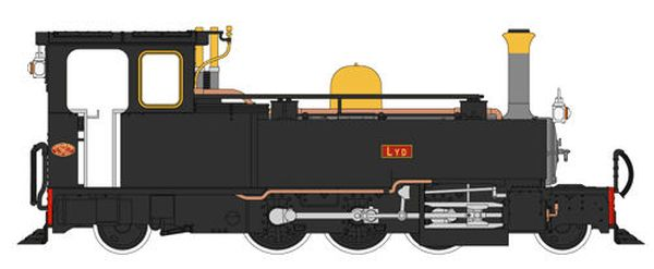 Heljan 9961 Lynton & Barnstaple Plain Black 190 LYD (New Build) (009 gauge)