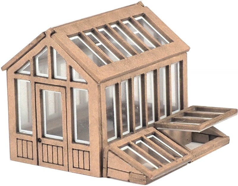 Metcalfe PN814 Greenhouse (N scale card kit)