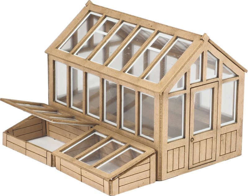 Metcalfe PO514 Greenhouse (OO scale card kit)