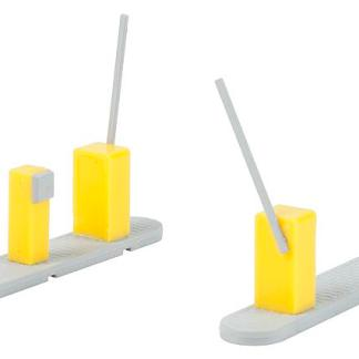 Faller 180942 Car Park Barriers (HO / OO scale plastic kit)