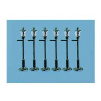 Model Scene 5004 Gas Lamp Posts (x6) (OO scale)