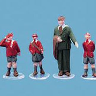 Model Scene 5121 Schoolboys and Master (OO scale)