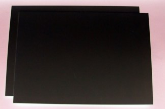 "60 thou (.060"") 1.5mm thick black plastic card"