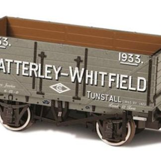 Oxford Rail 76MW7028 7 Plank Wagon Chatterley Whitfield Tunstall 1933 (OO gauge)