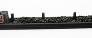 Ancorton Models N Gauge Industrial Narrow Boat with Coal Load