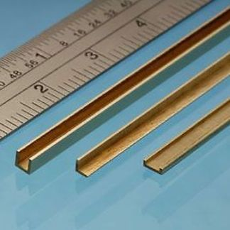 Albion Alloys A3 Brass Angle 3mm x 3mm x 305mm (1 piece)