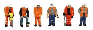 Bachmann 36-049 Trackside Workers (OO scale)