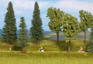 Gaugemaster GM132 Mixed Trees OO/HO Scale (10)