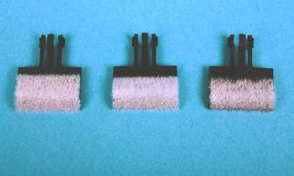 Gaugemaster GM37 OO Gauge Track Cleaning Pads. Axle Hung. (Pack of 3)