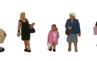 Graham Farish 379-306 Shopping Figures (6 figures N gauge)