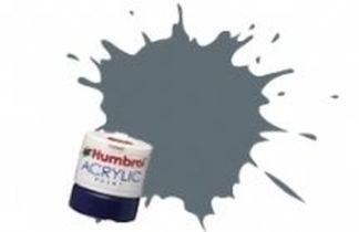 Humbrol 123 US Extra Dark Sea Grey Satin- Acrylic Paint 14ml