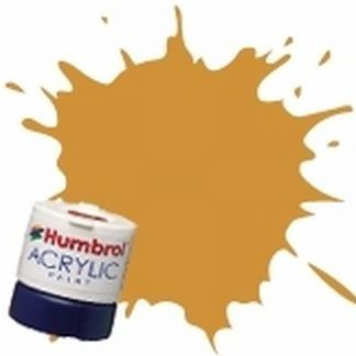 Humbrol 16 Gold Metallic - Acrylic Paint 14ml