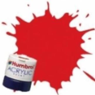 Humbrol RC421 Virgin Red - Rail Colours Acrylic Paint 14ml