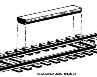 Kadee 312 Non Delayed Between the Rails Uncoupler (x2) (HO/OO gauge)