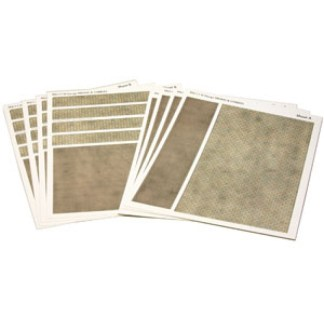 Metcalfe PN111 Paving & Cobblestone sheets (N scale)