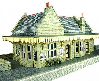 Metcalfe PO238 Stone Built Wayside Station (OO scale)