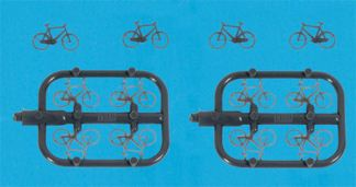 Model Scene 5189 Bicycles (x12) (N scale)