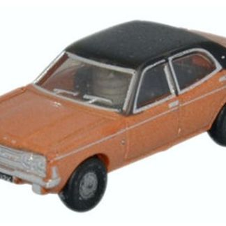 Oxford NCOR3001 Ford Cortina MkIII Gold (N gauge)