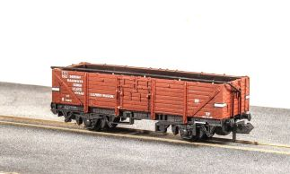 Peco NR-10B  Open Wagon, BR Ferry, bauxite, no. B715010 (N gauge)
