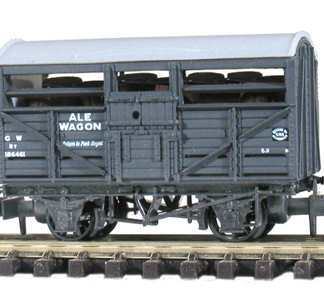 Peco NR-46B Ale Wagon, GW No.38659 Dark Grey (N gauge)