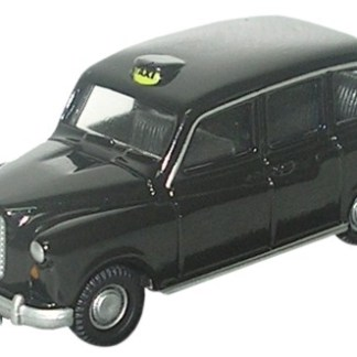 Oxford 76FX4001 Black FX4 Taxi Cab