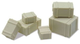Peco LK-24 Packing Cases (6) (OO scale)