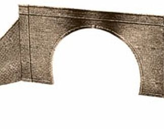 Peco LK-32 Tunnel Mouth & Walls, stone type, double track (OO gauge)