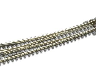 Peco SL-E386 Code 80 Electrofrog Curved Right hand Turnout (N gauge)