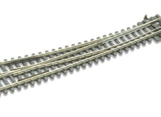 Peco SL-E386F Code 55 Electrofrog Right hand Turnout,curved (N gauge)