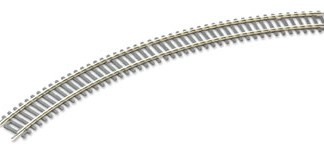 Peco ST-226 Setrack No.2 Radius Double Curve (Equivalent to Hornby R607) (OO gauge)
