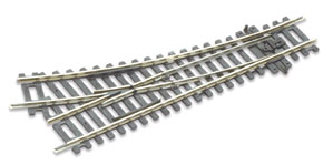 Peco ST-240 Setrack Right Hand Point No.2 Radius Insulfrog (Hornby R8073) (OO gauge)